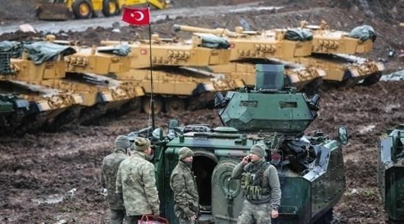 آليات عسكرية تركية على الحدود السورية (أرشيف)