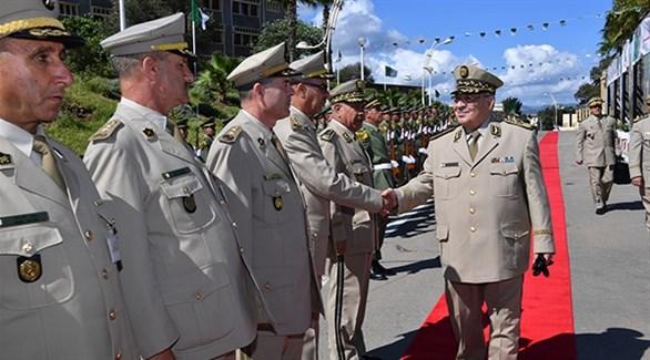 الفريق أحمد قايد صالح نائب وزير الدفاع ورئيس أركان الجيش الجزائري (أرشيف)