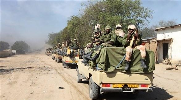 قافلة عسكرية في تشاد (أرشيف)