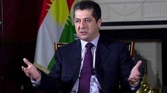 مستشار مجلس أمن إقليم كردستان مسرور برزاني (أرشيف)