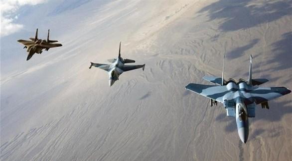 طائرات حربية تابعة للتحالف الدولي في العراق (أرشيف)