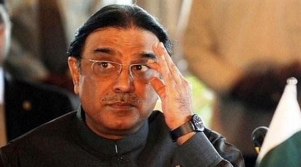 الرئيس الباكستاني الأسبق آصف علي زرداري (أرشيف)