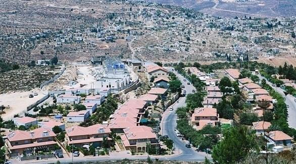 مستوطنة إسرائيلية مقامة على أراض فلسطينية (أرشيف)