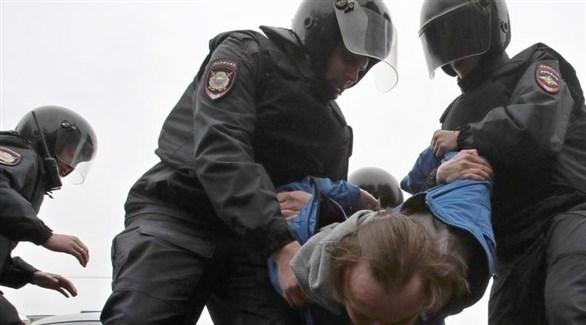 الشرطة الروسية تعتقل مطلوباً (أرشيف)