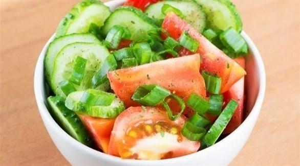 الخضروات الغنية بالماء وغير المطبوخة (أرشيفية)