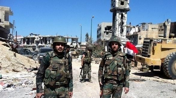 مجندون في الجيش النظامي السوري (أرشيف)