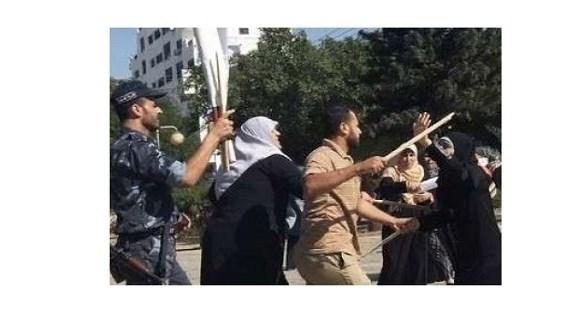 عناصر من أمن حماس يعتدون على سيدات في غزة (أرشيف)