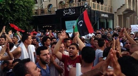 تظاهرة سابقة في ليبيا (أرشيف)