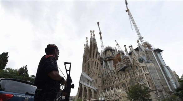 كاتدرائية العائلة المقدسة بمدينة برشلونة (أرشيف)