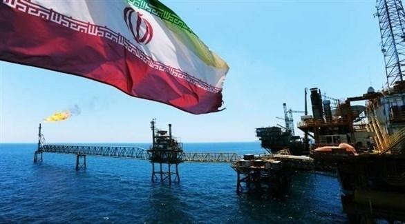 منصة استخراج نفط إيرانية (أرشيف)
