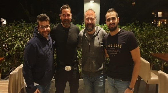 الممثل التركي خالد أرغنش إلى جانب أمير كرارة (24)