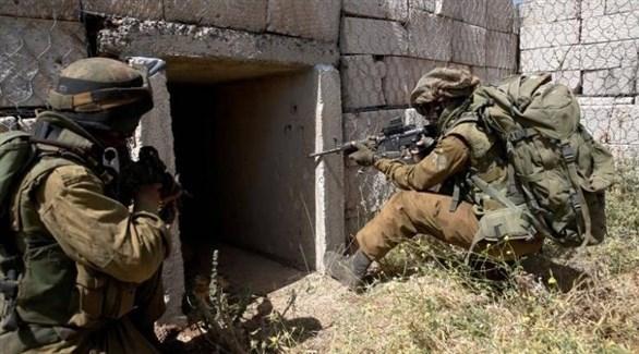 عملية عسكرية للجيش الإسرائيلي على الحدود الشمالية (أرشيف)
