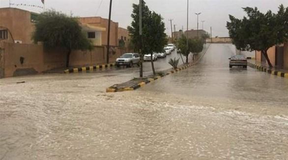 أمطار ليبيا (أرشيف)
