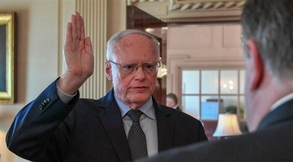الممثل الخاص لوزير الخارجية لشؤون سوريا السفير جيم جيفري (أرشيف)