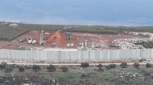 أعمال حفر إسرائيلية قرب الحدود اللبنانية (أرشيف)