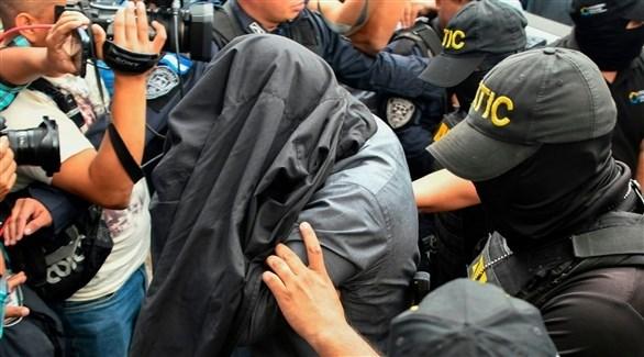 عناصر الشرطة تقبض على  مطلوب في هندوراس (أ ف ب)