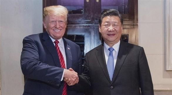 الرئيسان الصيني شي جينبينغ والأمريكي دونالد ترامب (أرشيف)