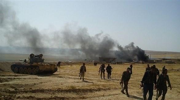 عناصر من قوات سوريا الديمقراطية في دير الزور (أرشيف)