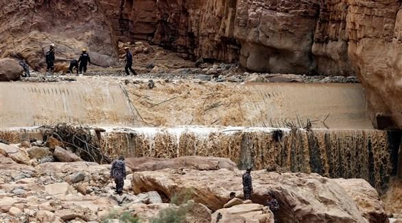 سيول في الأردن (أرشيف)