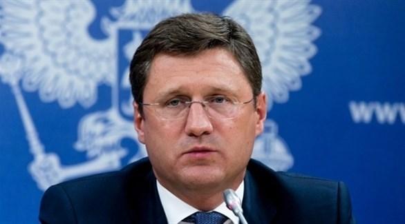 وزير الطاقة الروسي ألكسندر نوفاك (أرشيف)