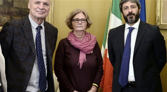 عقب لقاء رئيس مجلس النواب الإيطالي مع أسرة ريجيني(آكي)