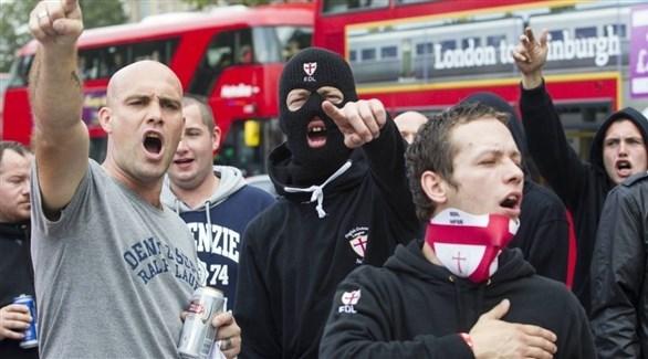 نازيون جدد يتظاهرون في لندن (أرشيف)