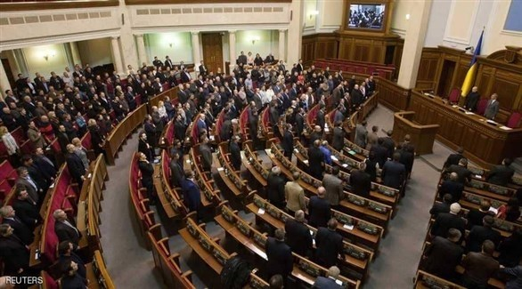 جلسة في البرلمان الأوكراني (أرشيف)