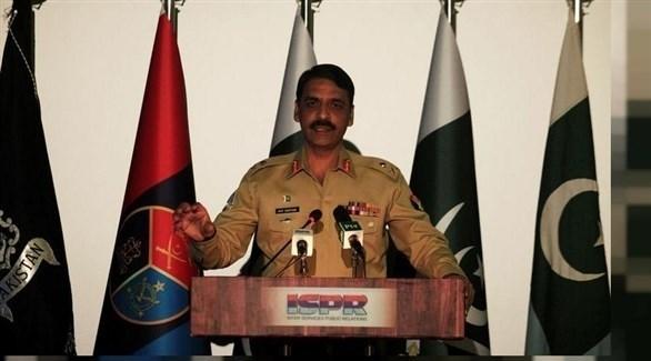 المتحدث باسم الجيش الباكستاني الميجر جنرال آصف غفور (أرشيف)