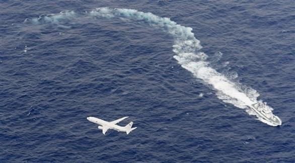 طائرة وسفينة تبحثان عن ناجين محتملين بعد تصادم الطائرتين الأمريكيتين (كيودو اليابانية)