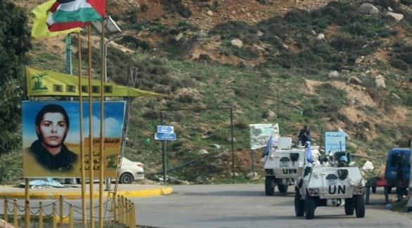 دورية ليونيفيل في جنوب لبنان على الحدود مع إسرائيل (أرشيف)