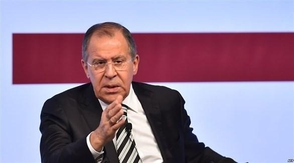 وزير الخارجية الروسي سيرغي لافروف (أ ف ب)
