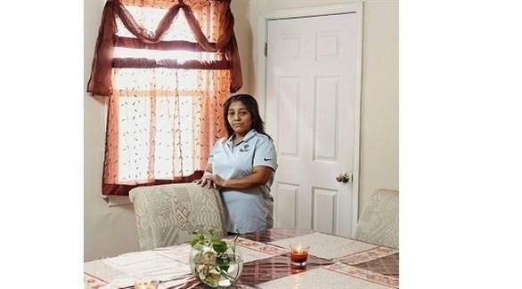 المهاجرة الغواتيمالية فيكتورينا موراليس (نيويورك تايمز)