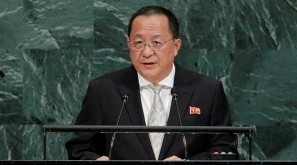 وزير خارجية كوريا الشمالية ري يونغ هو (أرشيف)