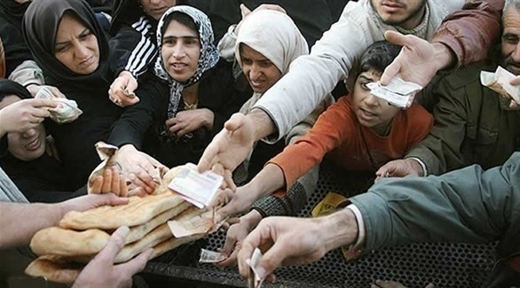 فقراء إيرانيون (أرشيف)