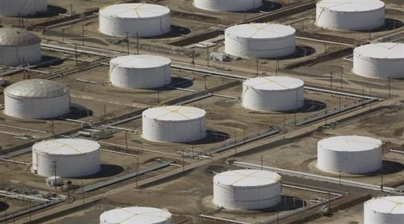خزنات نفطية أمريكية في أوكلاهوما(أرشيف)