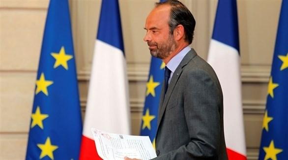 رئيس وزراء فرنسا إدوار فيليب (أرشيف)