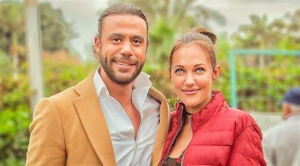 محمد إمام ومريم أوزرلي (أرشيف)