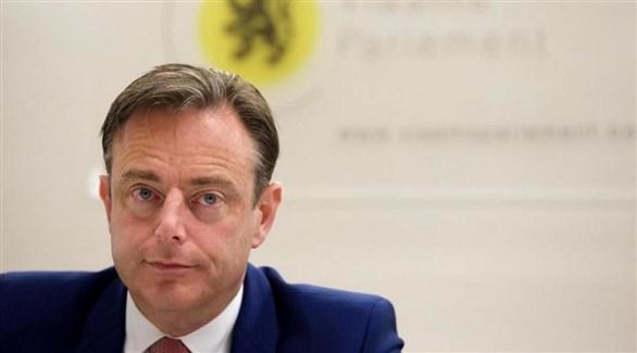 زعيم الحزب الوطني الفلمنكي اليميني البلجيكي بارت دي ويفر (أرشيف)