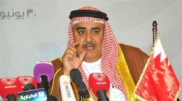 وزير الخارجية البحريني الشيخ خالد بن أحمد بن محمد آل خليفة (أرشيف)