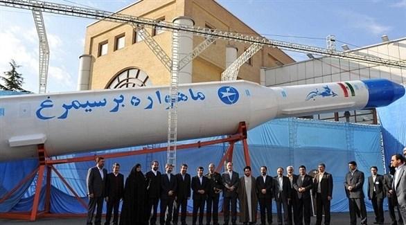 عرض أحد الصواريخ الباليستية الإيرانية (أرشيف)