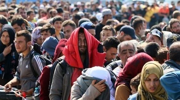 مهاجرون  على الحدود بين المجر والنمسا (أرشيف)
