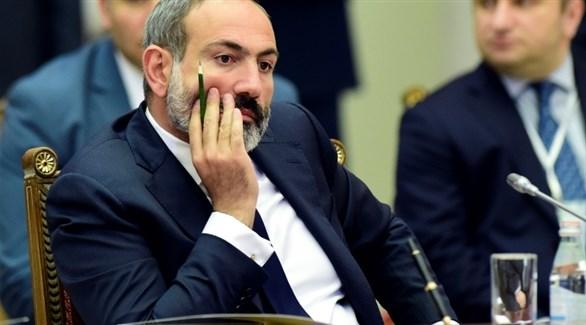 رئيس الحكومة الأرمينية نيكول باشينيان (أ ف ب)