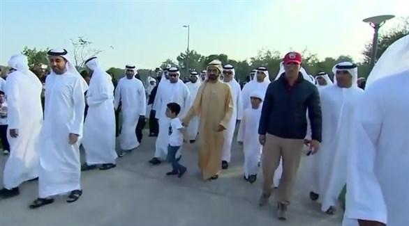 24b496949 محمد بن راشد يشارك في مبادرة