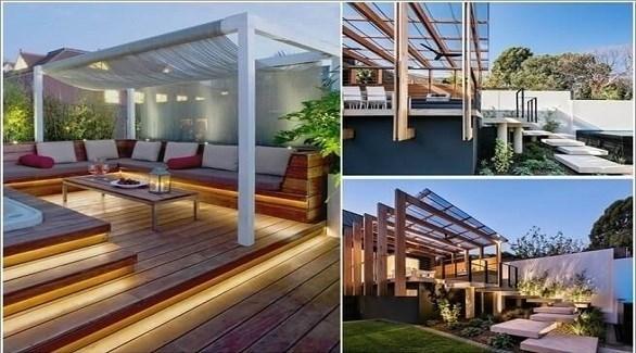 10 أفكار لتحويل سطح المنزل إلى منتزه عائلي