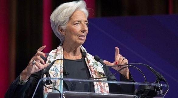 مديرة الصندوق النقد الدولي كريستين لاغارد (أرشيف)