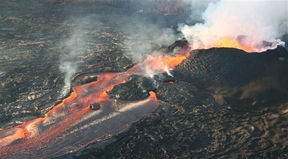 زلزال بقوة 5.2 درجات بسبب ثوران بركان كيلاويا في هاواي