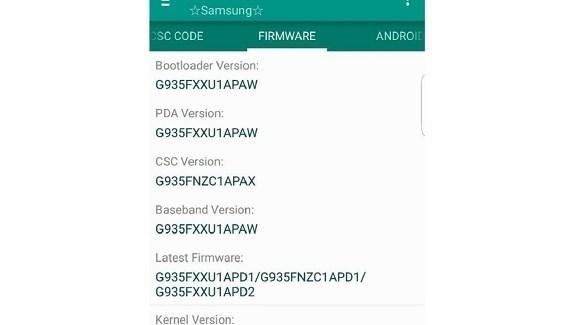 تطبيق Phone Info Samsung (أرشيف)
