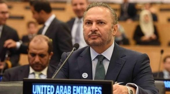 قرقاش مشاركاً في جلسات الأمم المتحدة (وام)