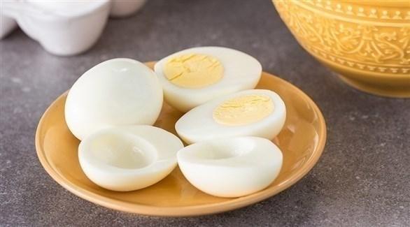 يحتوي البياض على 67 بالمائة من البروتين في البيضة