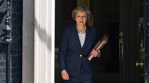 رئيسة الوزراء البريطانية، تيريزا ماي (أرشيف)